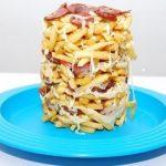Torre de Batatas Fritas Mais Fácil Impossível !