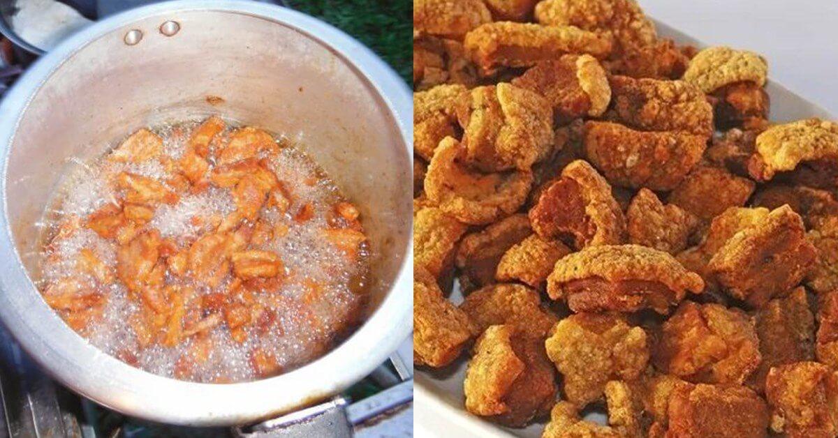 Receita de Torresmo Na Panela De Pressão – Sequinho, Crocante e Sem Bagunça Na Cozinha