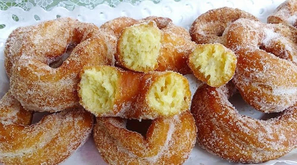 Argolinhas fritas de limão ( Receita Super saborosa)