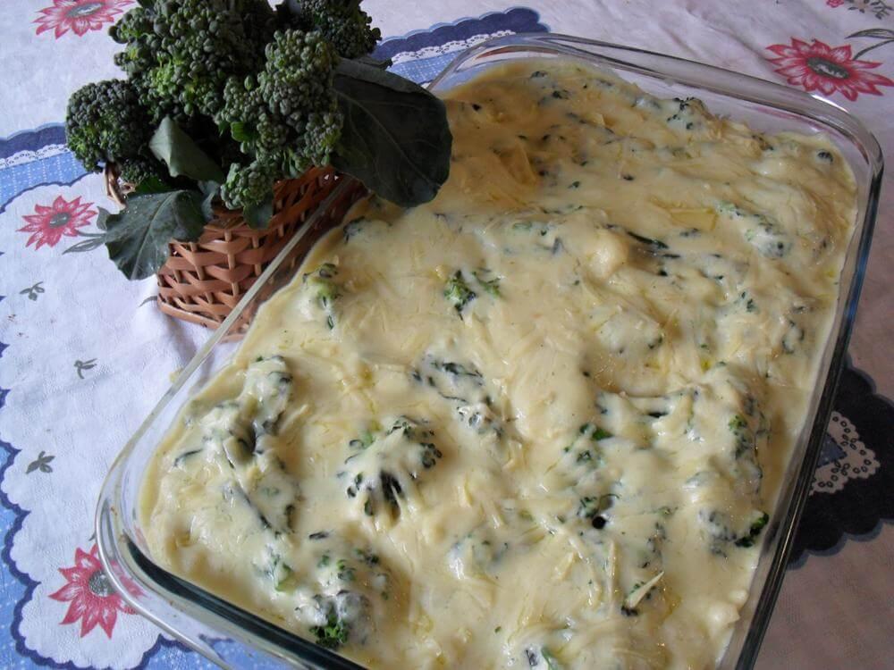 Receita de Lasanha de Brócolis e Queijo – Sabor Surpreendente