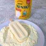 Picolé de leite ninho super fácil e rápido de fazer. Apenas 4 ingredientes que todo mundo tem em casa.