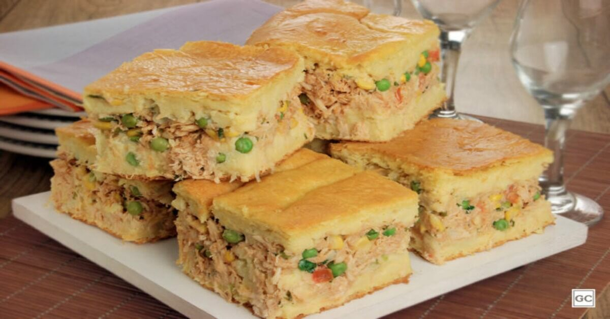 Torta Caipira de Frango Com Massa De Milho Verde – Uma Receita DELICIOSA