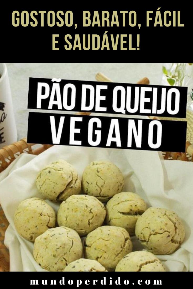 Pão de queijo vegano: gostoso, barato, fácil e saudável!