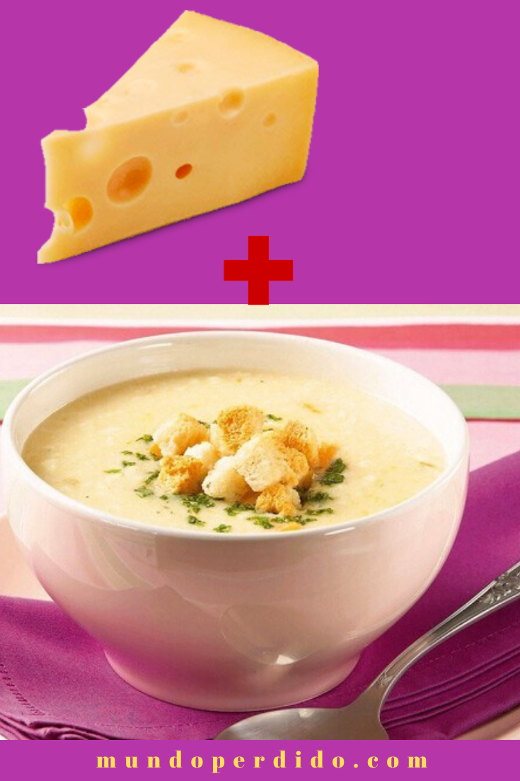Sopa de queijo cremosa – Sabor irresistível