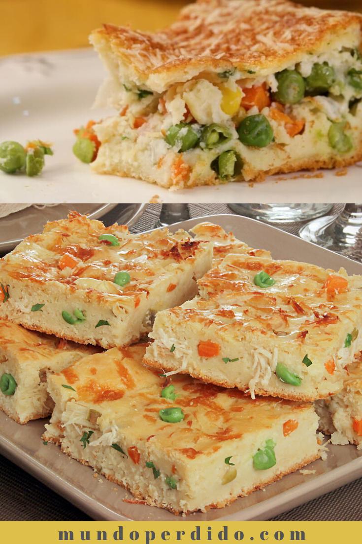 Torta de legumes de liquidificador fácil [a melhor torta cremosa de legumes]