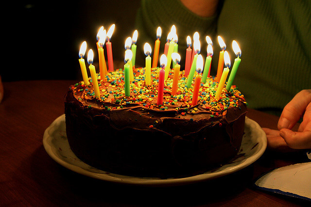 bolo de aniversário tumblr