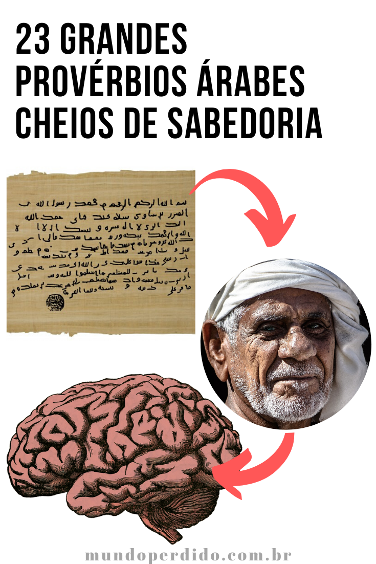 23 Grandes Provérbios Árabes Cheios De Sabedoria