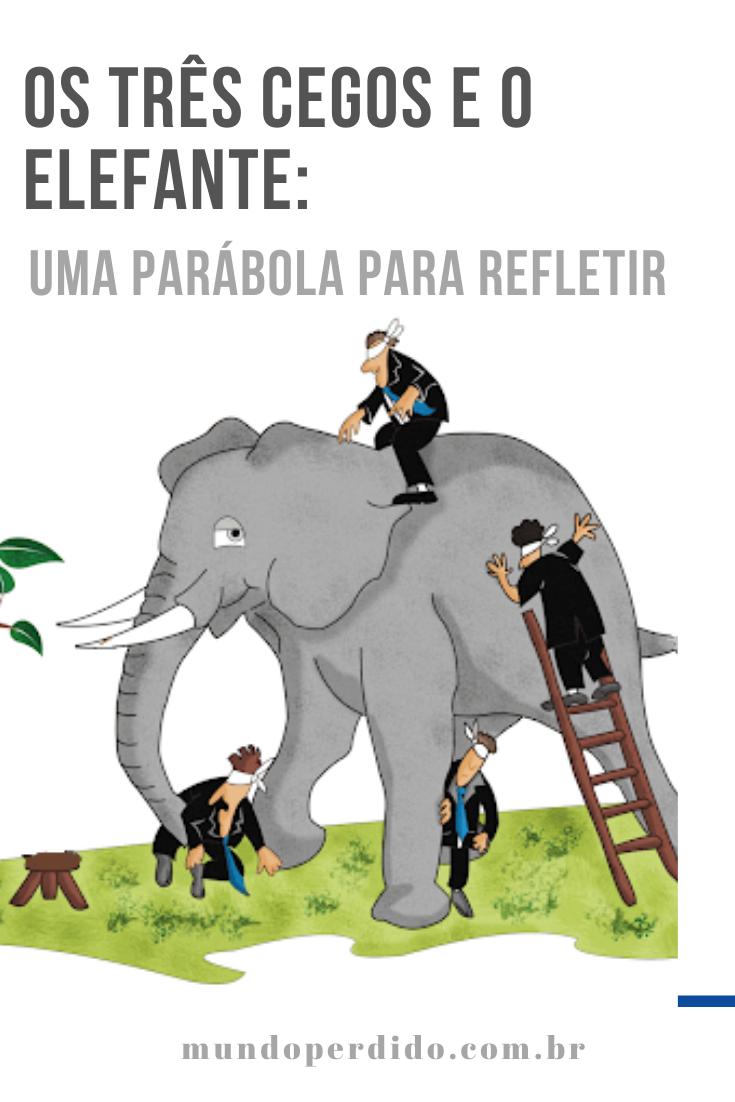 Os três cegos e o elefante: Uma parábola para refletir