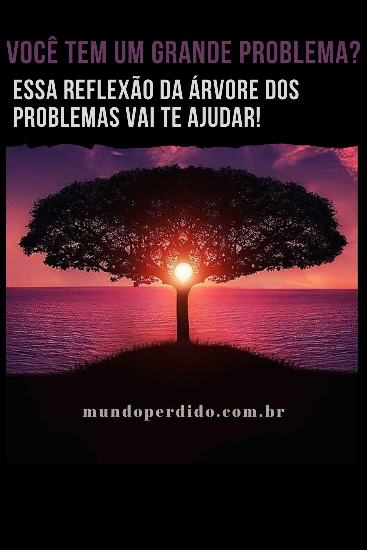 Você tem um grande problema? Essa reflexão da árvore dos problemas vai te ajudar!