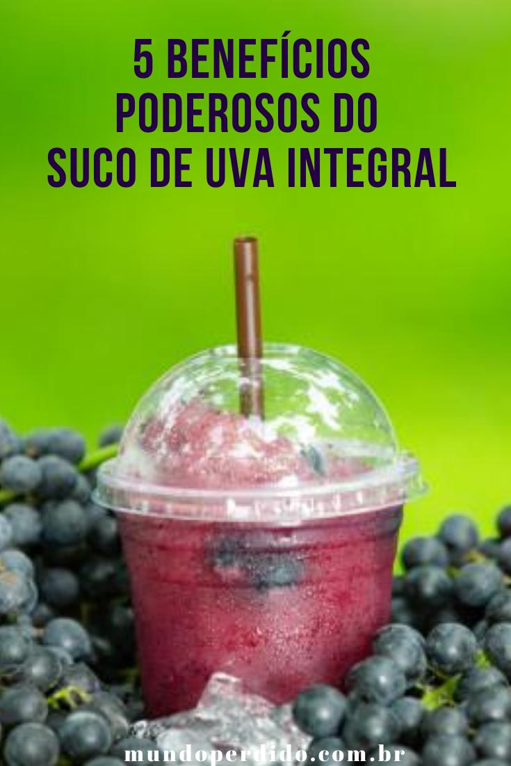 5 Benefícios poderosos do suco de uva integral
