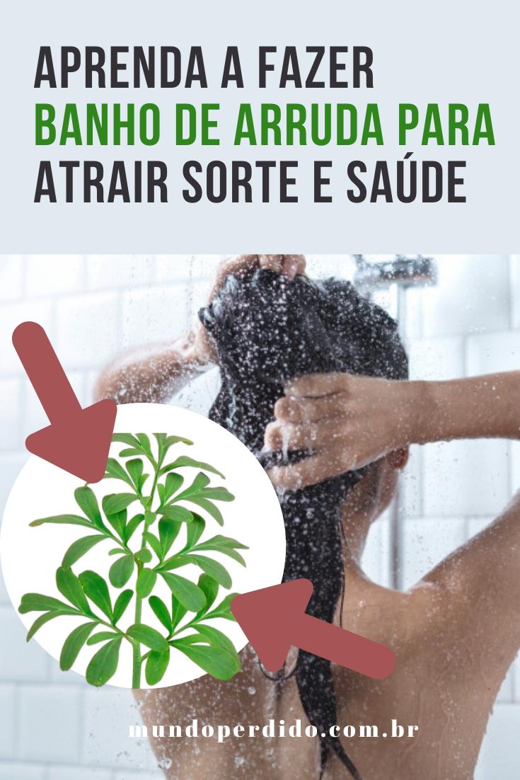 Aprenda a fazer banho de arruda para atrair sorte e saúde
