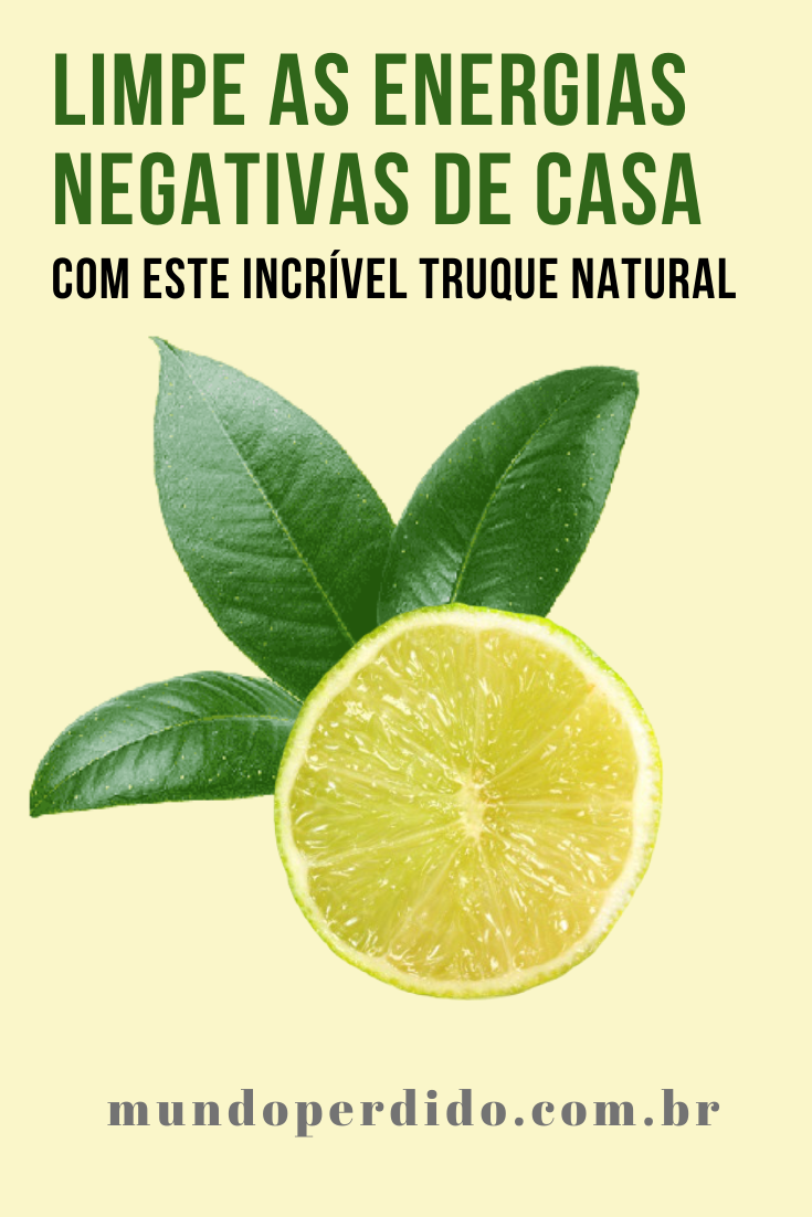 Limpe as energias negativas de casa com este incrível truque natural