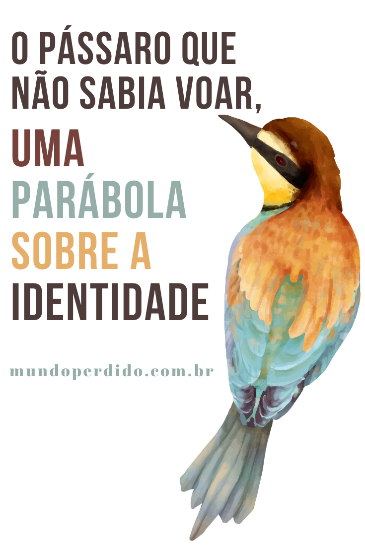 O pássaro que não sabia voar, uma parábola sobre a identidade