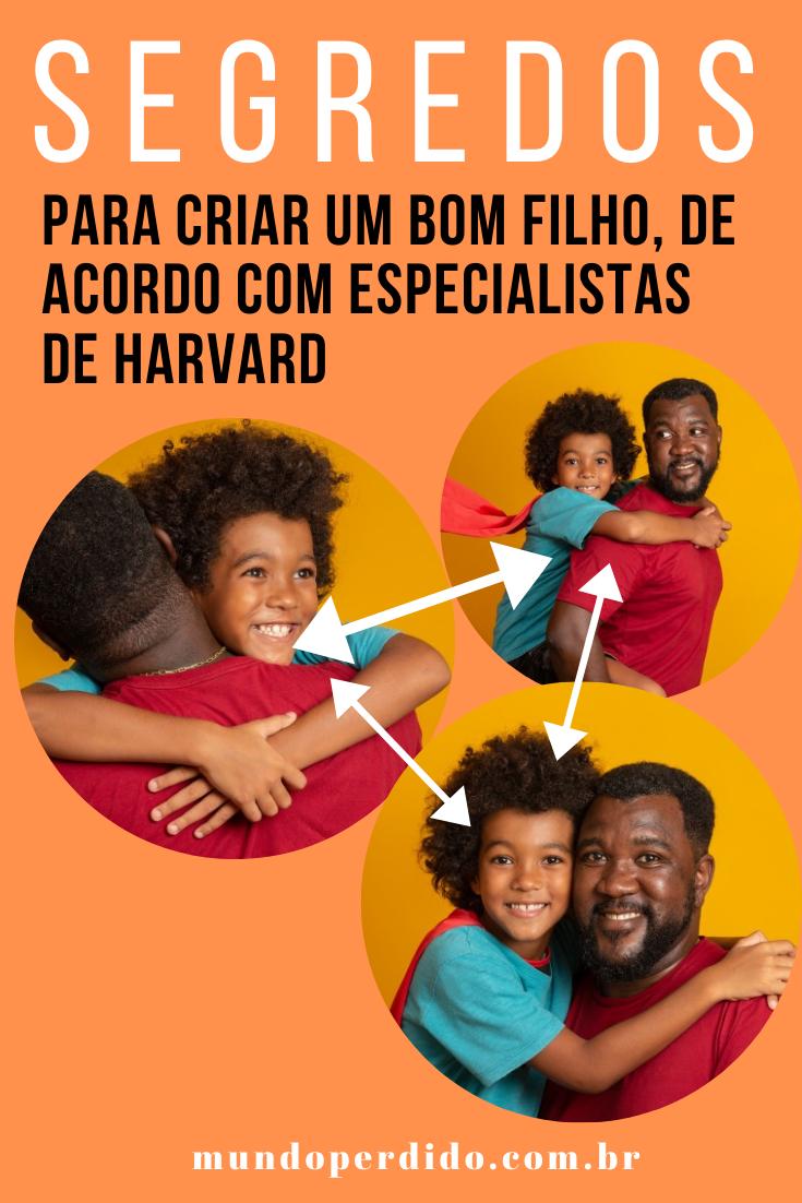 Segredos para criar um bom filho, de acordo com especialistas de Harvard