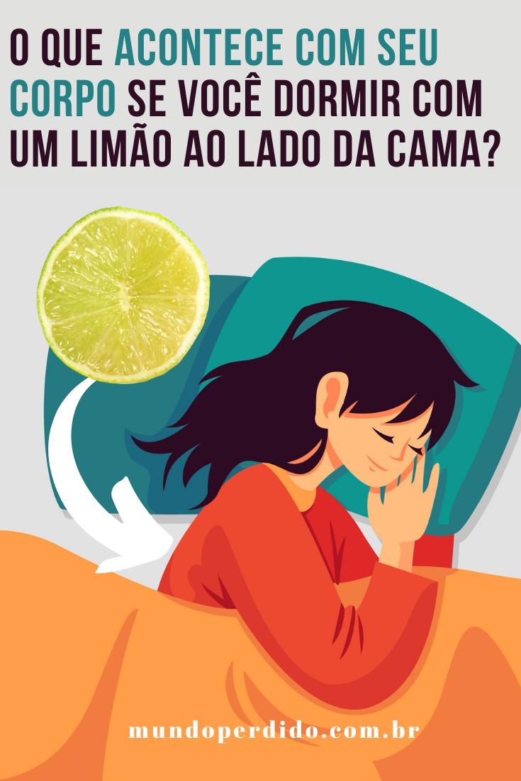 O que acontece com seu corpo se você dormir com um limão ao lado da cama?