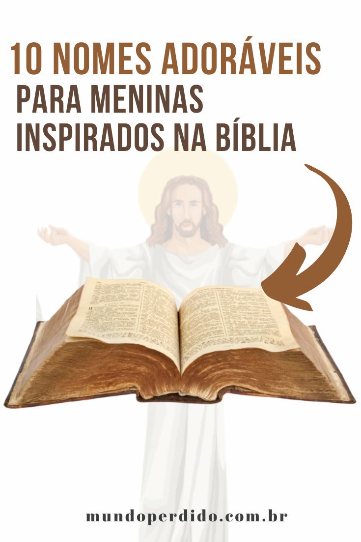 10 Nomes adoráveis para meninas inspirados na Bíblia
