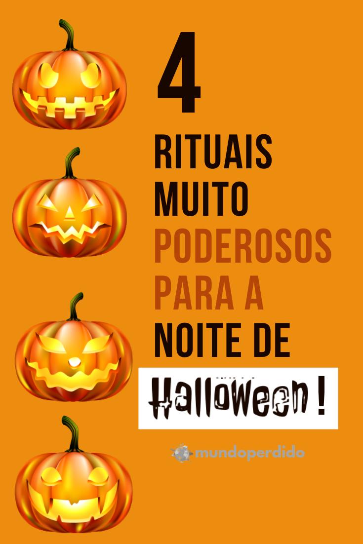 4 Rituais Muito PODEROSOS para a noite de Halloween!