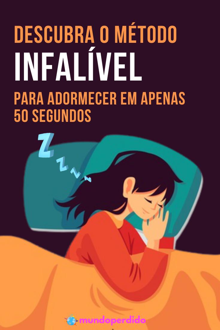 Descubra este método infalível para adormecer em apenas 50 segundos