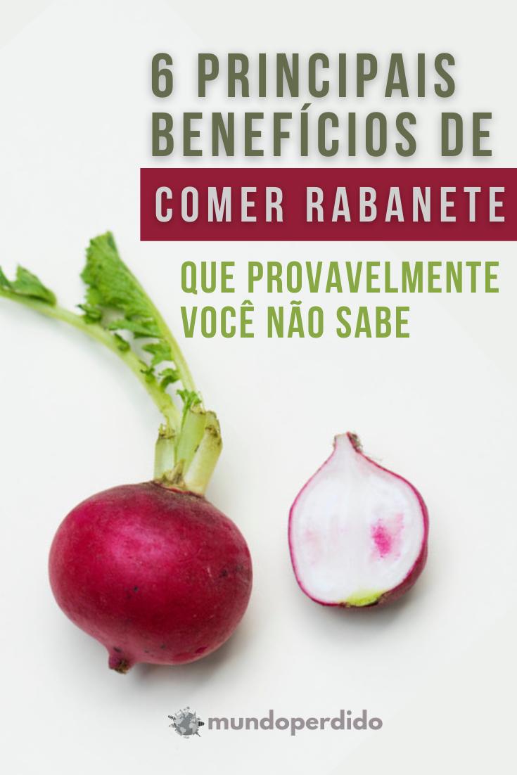 6 Principais benefícios de comer rabanete que provavelmente você não sabe