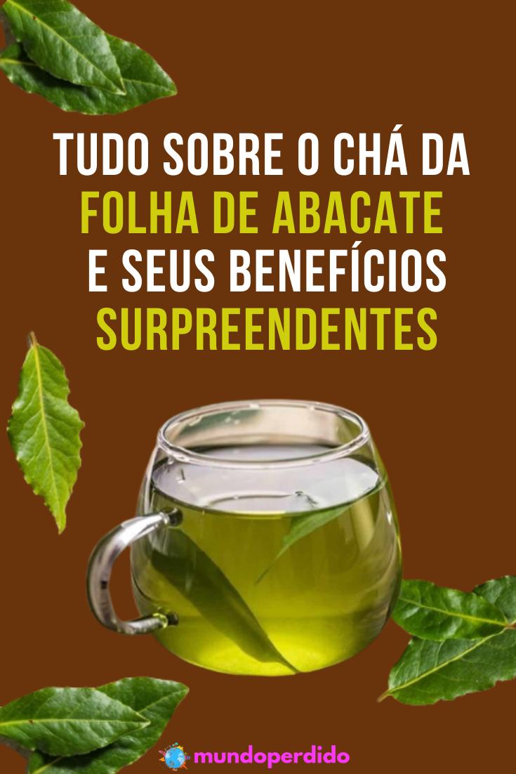 Chá da folha de abacate e seus benefícios surpreendentes