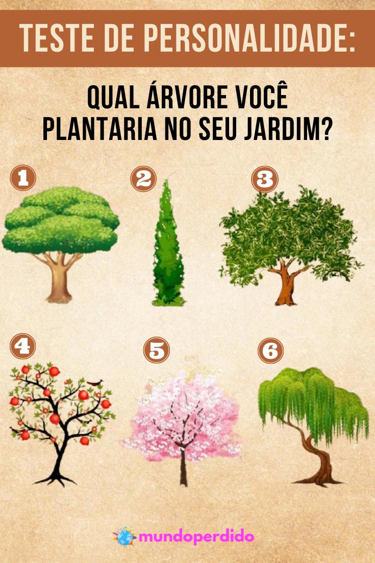 Teste de personalidade: Qual árvore você plantaria no seu jardim?