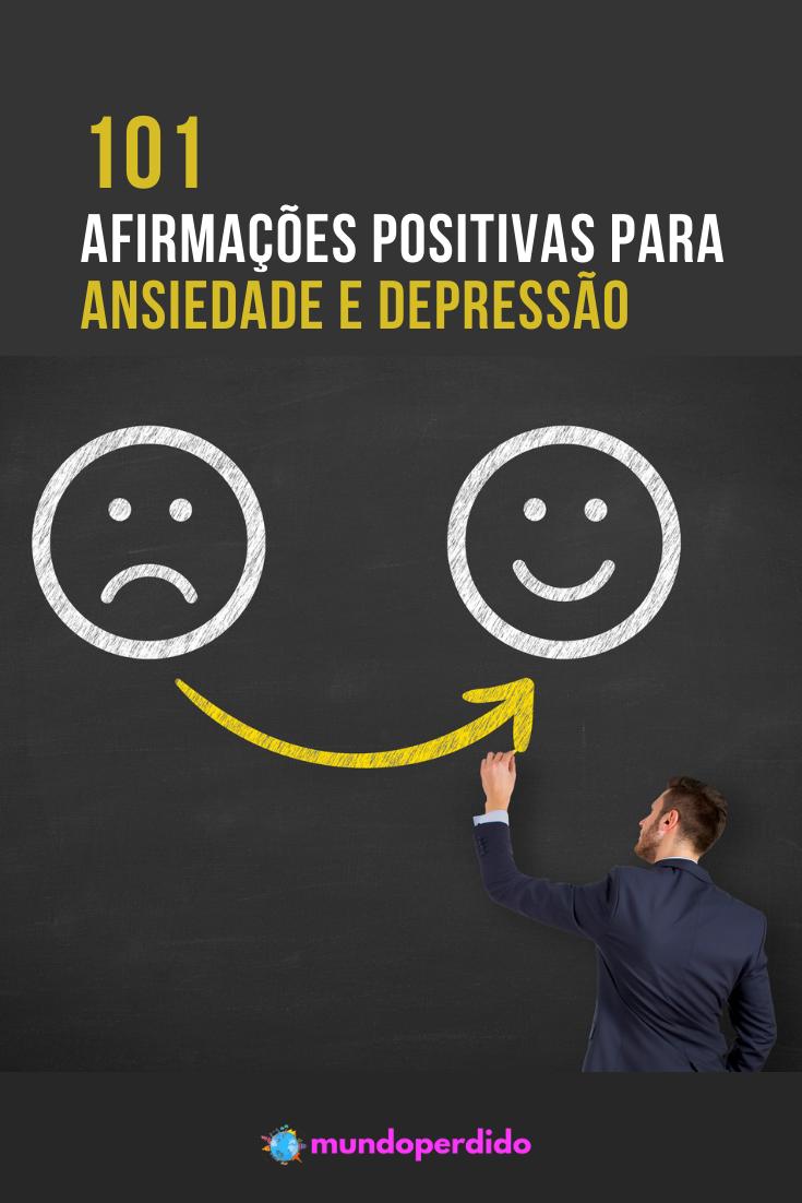 101 Afirmações Positivas para Ansiedade e Depressão